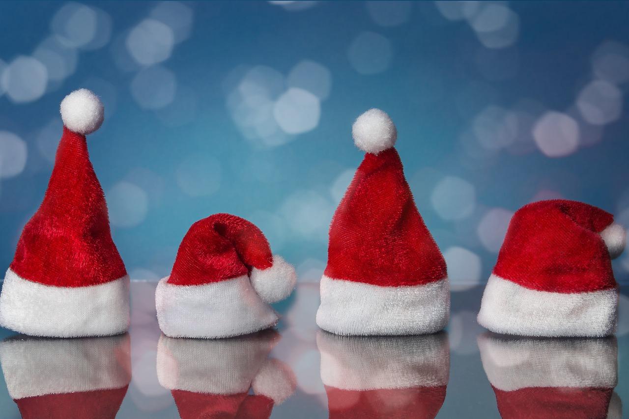 santa-hats